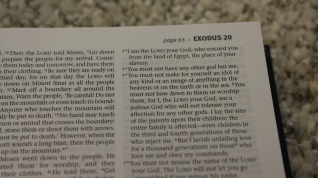 HOLY BIBLE - Holy Bible Consists only Ten Commandments.