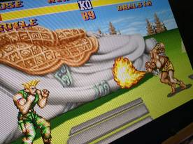 689 and 911 in Street Fighter 2 The World Warrior.